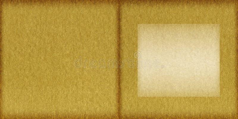Copertina di libro dorata fotografia stock libera da diritti