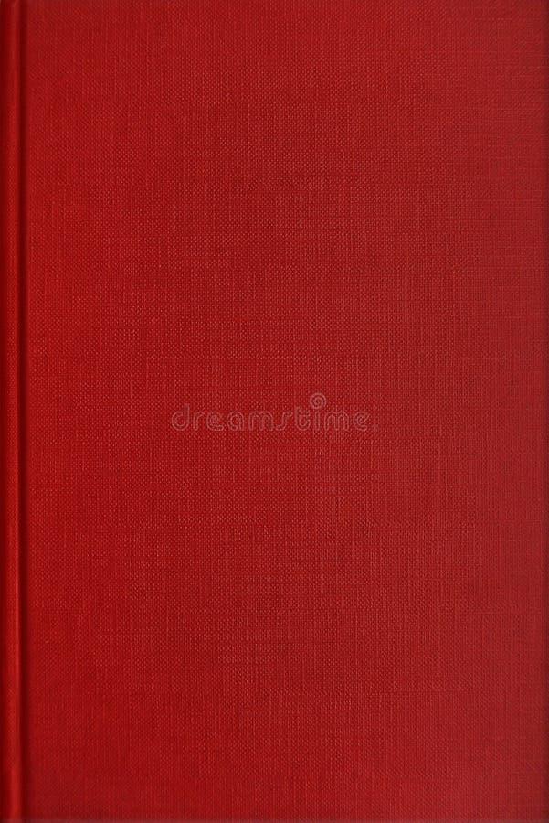 Copertina di libro rossa fotografia stock libera da diritti
