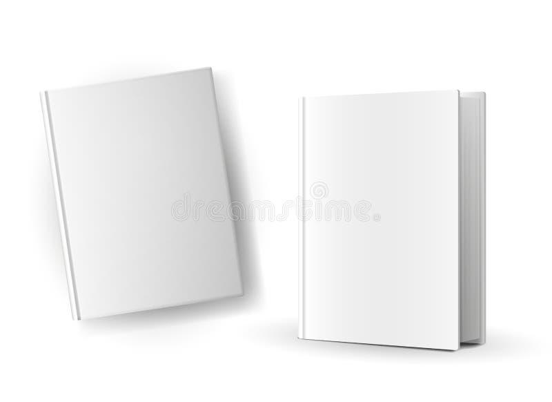 Copertine di libro in bianco royalty illustrazione gratis