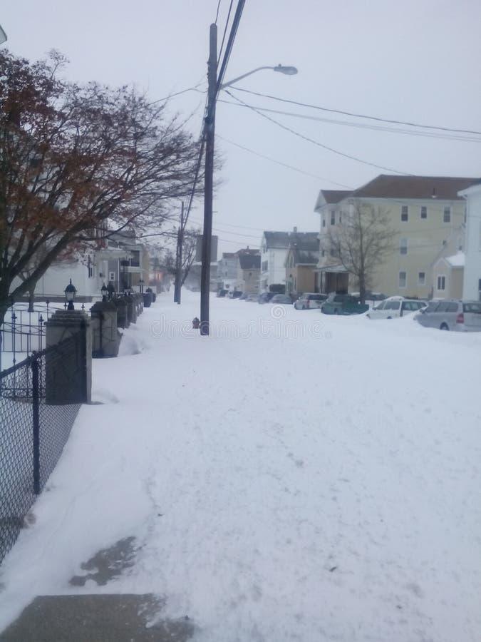 Copertura della neve immagini stock libere da diritti