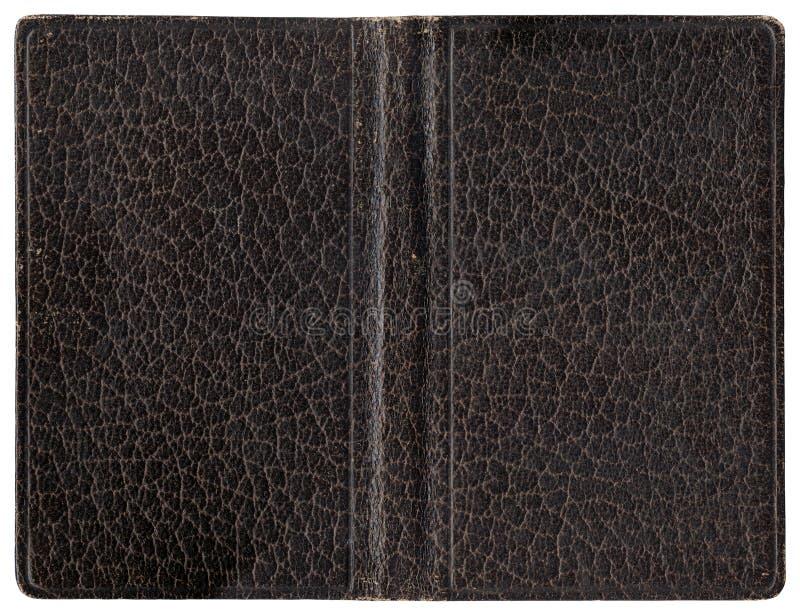 Copertura di cuoio - marrone immagini stock libere da diritti