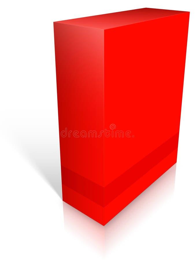 Copertura di scatola illustrazione vettoriale