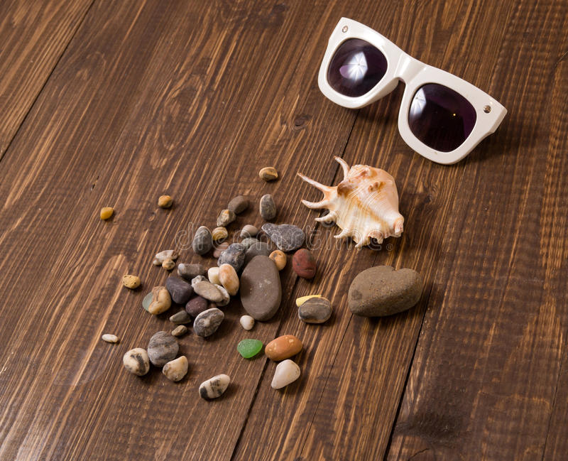 Coperture con gli occhiali da sole immagini stock