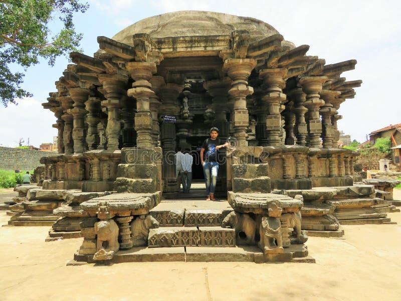 copeshwar寺庙 库存照片