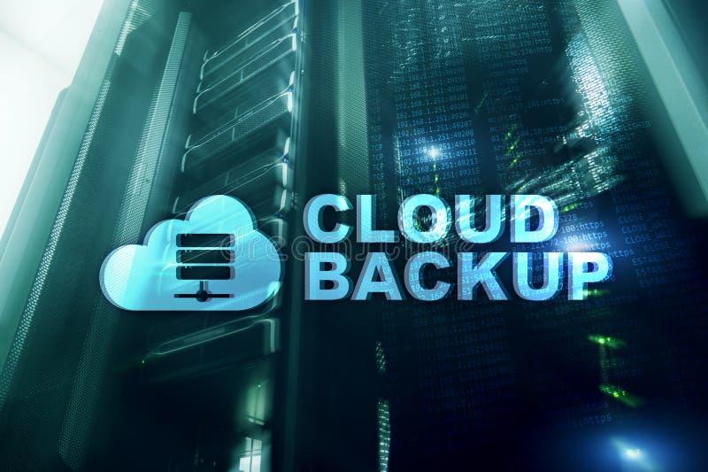 Copia de seguridad de la nube Prevención de la pérdida de datos del servidor Seguridad cibernética fotografía de archivo