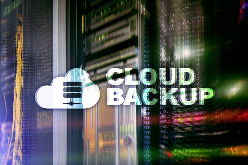 Copia de seguridad de la nube Prevención de la pérdida de datos del servidor Seguridad cibernética imagen de archivo