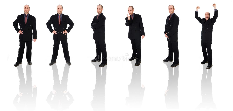 Copia del hombre de negocios imagen de archivo