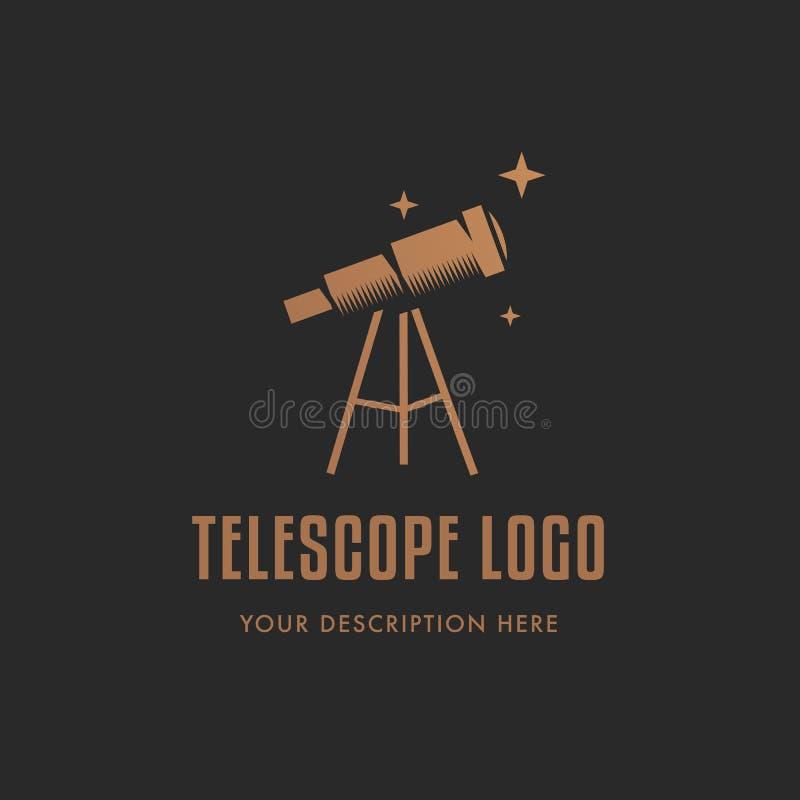 copia del Telescopio-logotipo libre illustration