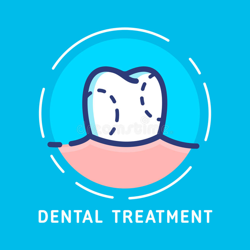 copia delle Dentario-icone royalty illustrazione gratis
