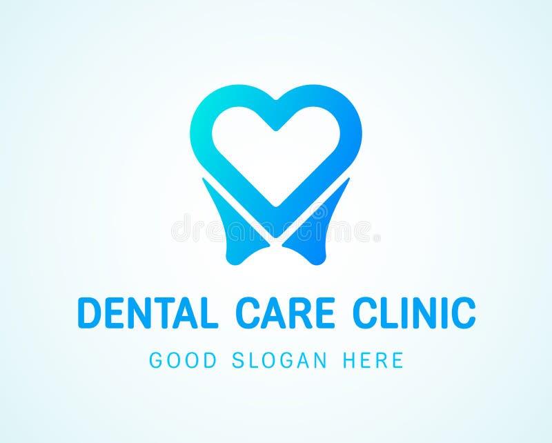 copia di Dente-cuore-logo royalty illustrazione gratis