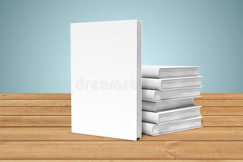 Copia-libri sull'orlo della tavola royalty illustrazione gratis