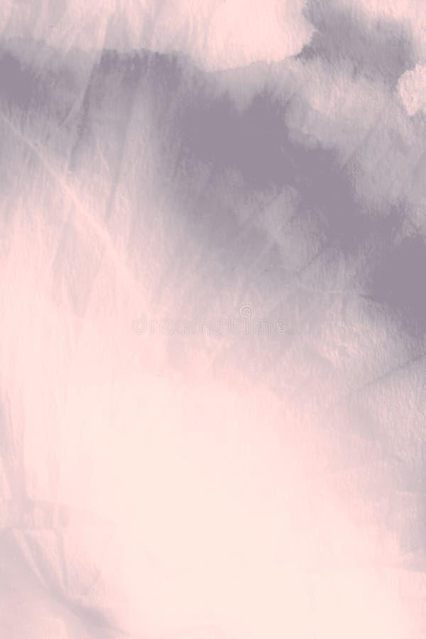 Copie d'aquarelle Coral Grungy Paint Argent photos stock