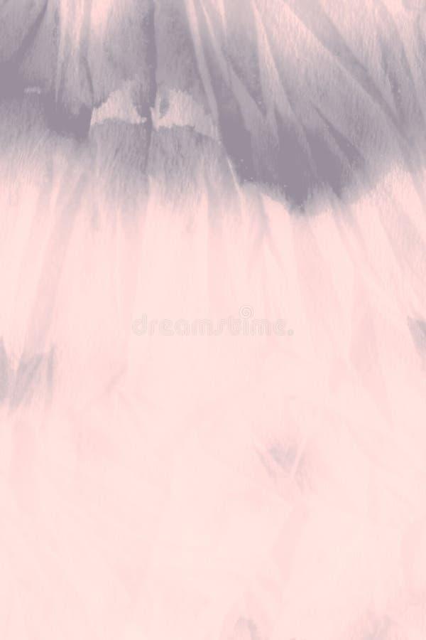 Copie d'aquarelle Pale Grungy Paint corail images stock