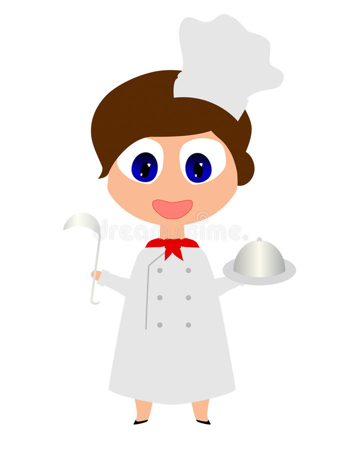 Copie de cuisinier illustration libre de droits