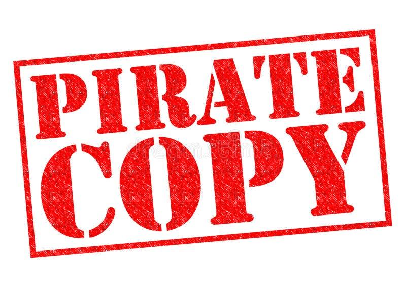 Copie de pirate images libres de droits