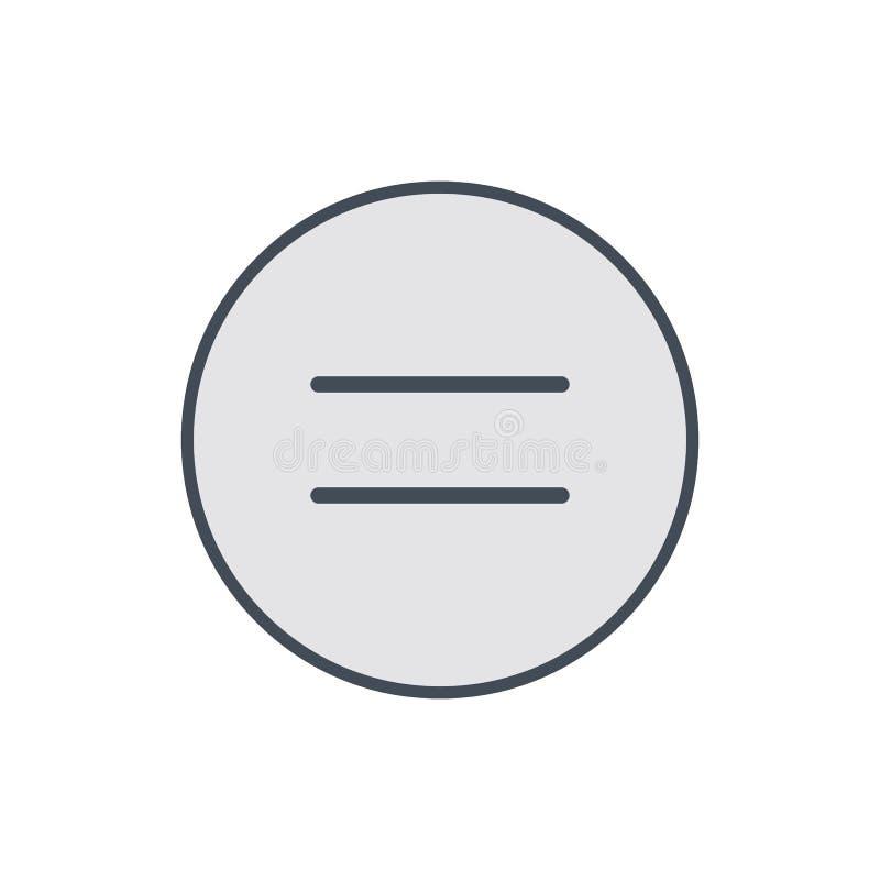 Copie el derivado de los derechos reservados ningún icono de la derecha de la restricción ilustración del vector