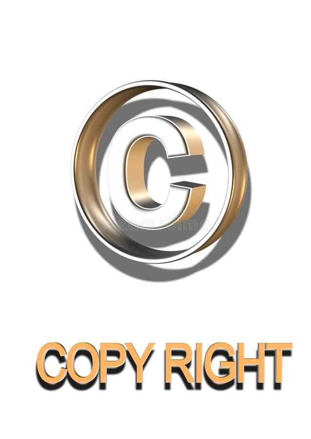 Copie el símbolo correcto libre illustration