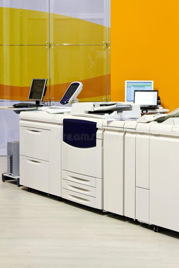 Copie a impressora imagem de stock