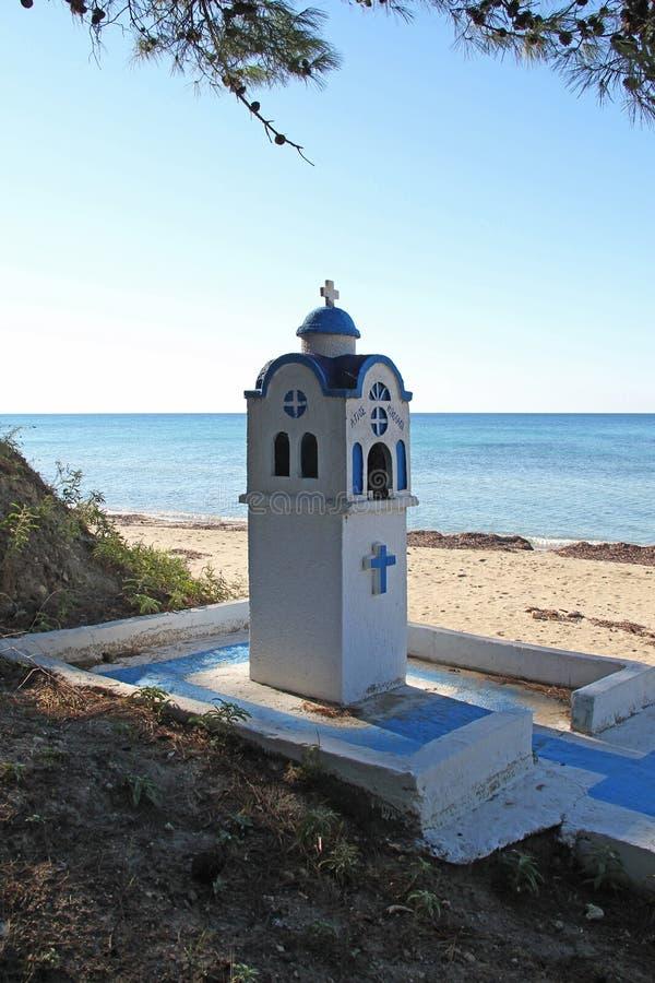 Copie miniature de la chapelle orthodoxe photographie stock