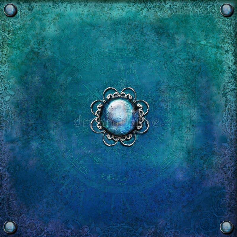 Copie rêveuse de l'Atlantide illustration de vecteur