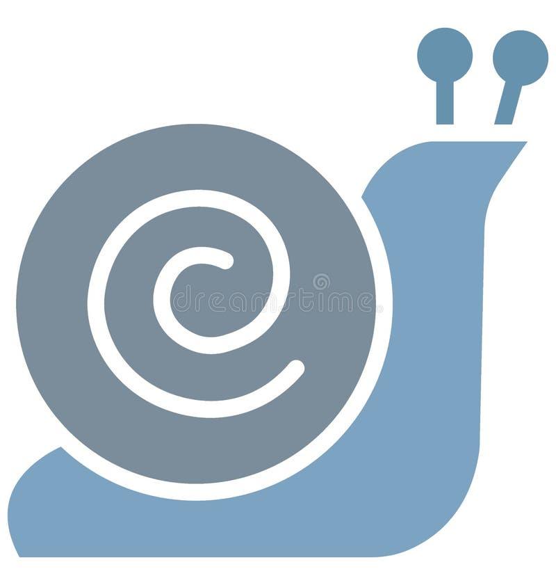 Copie Shell Isolated Vector Icon qui peut facilement modifier ou éditer illustration stock