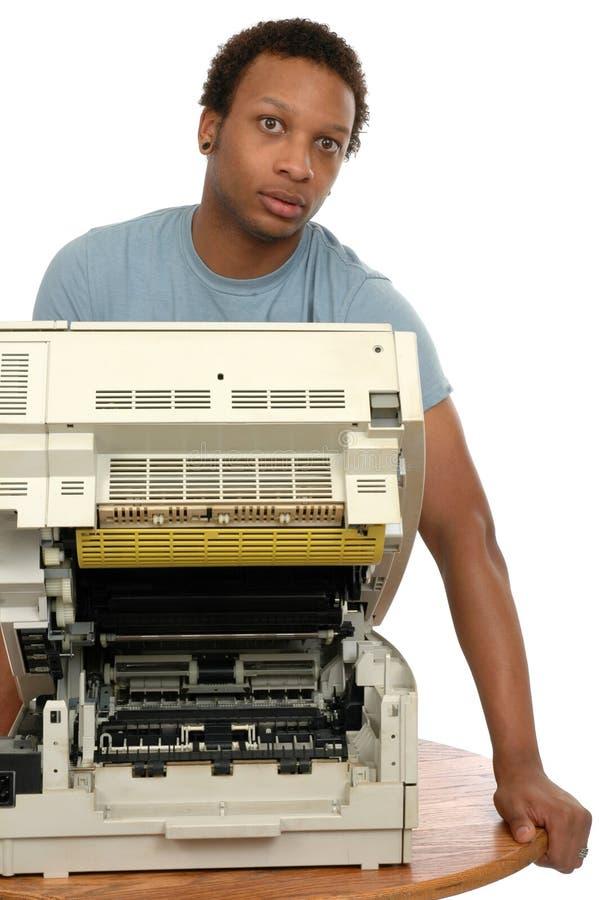 Download Copier Service stock image. Image of copier, repairman - 2222735