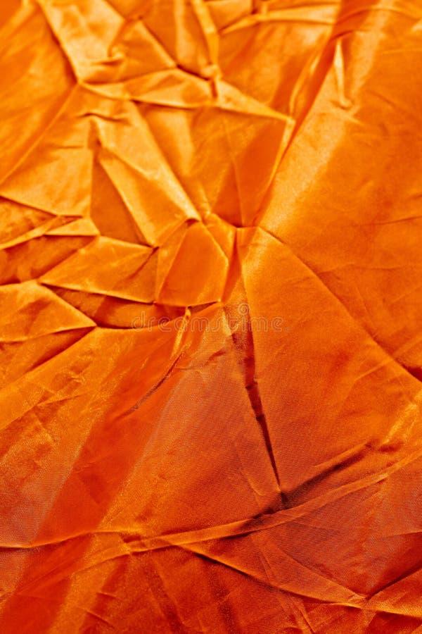 Copies de haute qualit? fond abstrait orange de polyester de macro image stock