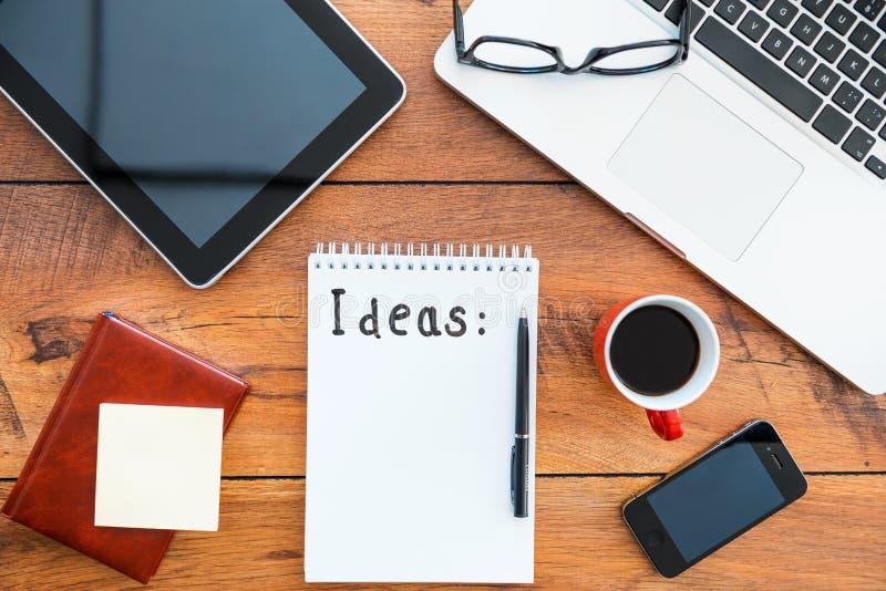 Copiez l'espace pour vos idées photographie stock libre de droits