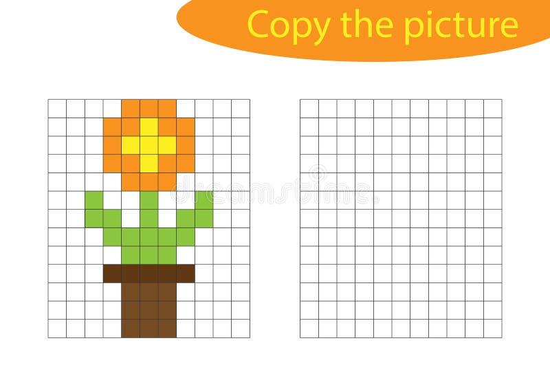 Pot De Fleur Dart De Pixel De Vecteur Illustration De
