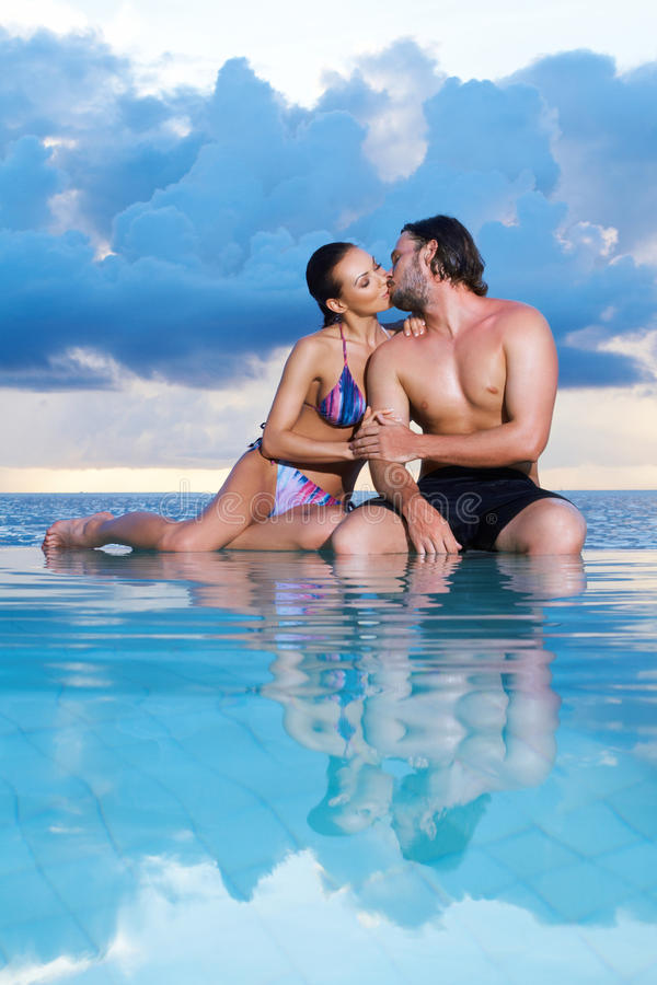 Copile at Maldives stock images