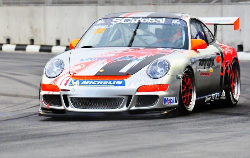 Copo Ásia de Porsche Carrera foto de stock