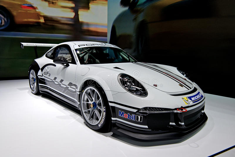 Copo 2014 de Porsche GT3 imagem de stock