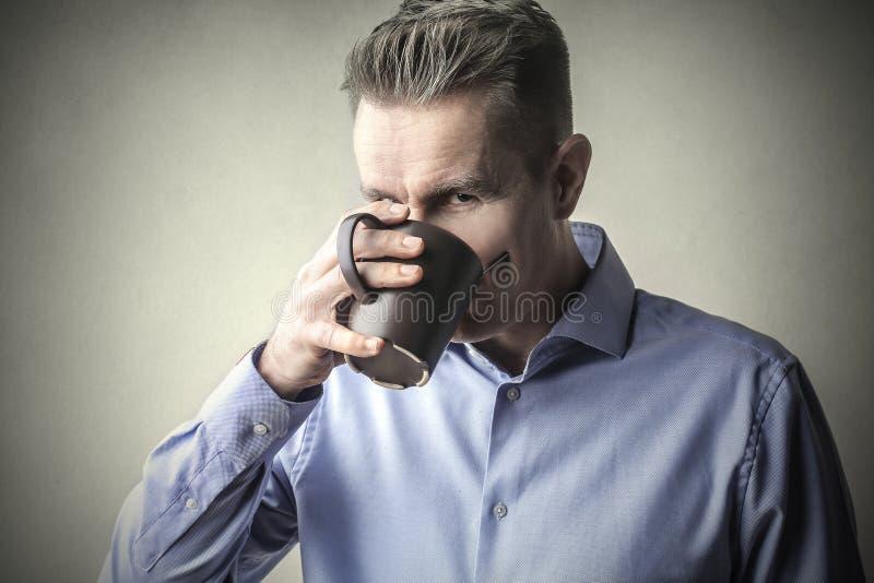 Copo bebendo fotografia de stock royalty free
