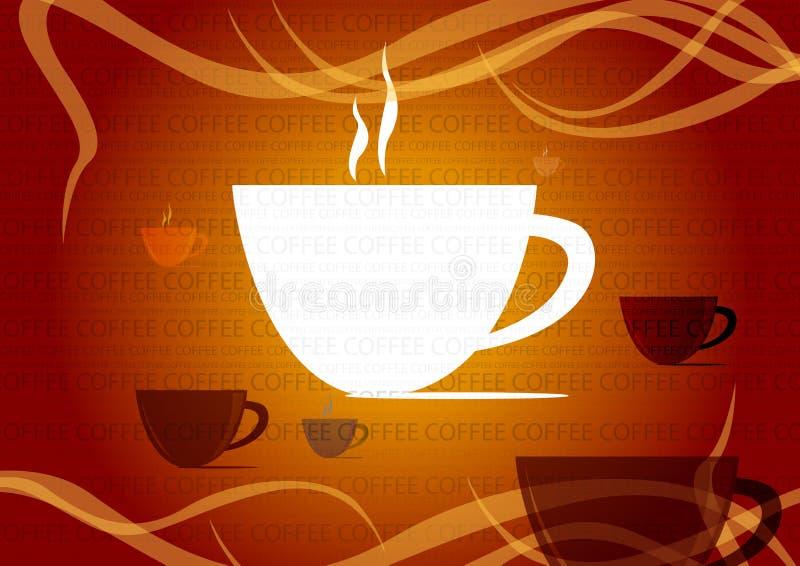 Copo de café ilustração do vetor