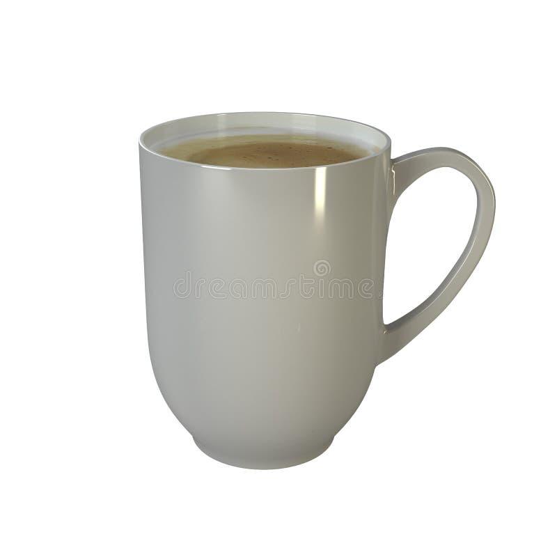 Copo de café branco fotos de stock