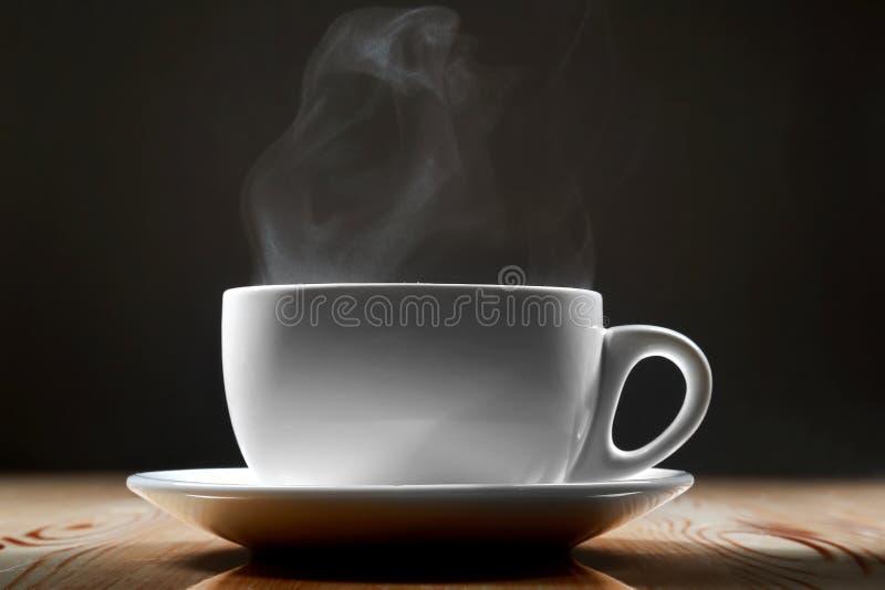 Copo de cozinhar o café ou o chá imagem de stock