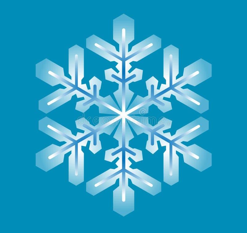 Copo de nieve azul libre illustration