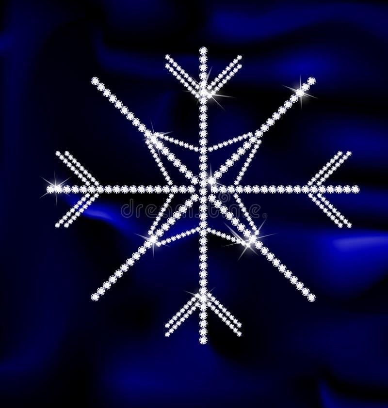 Copo de nieve de la joya libre illustration