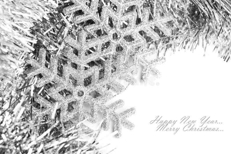 Copo de nieve de la Navidad imágenes de archivo libres de regalías
