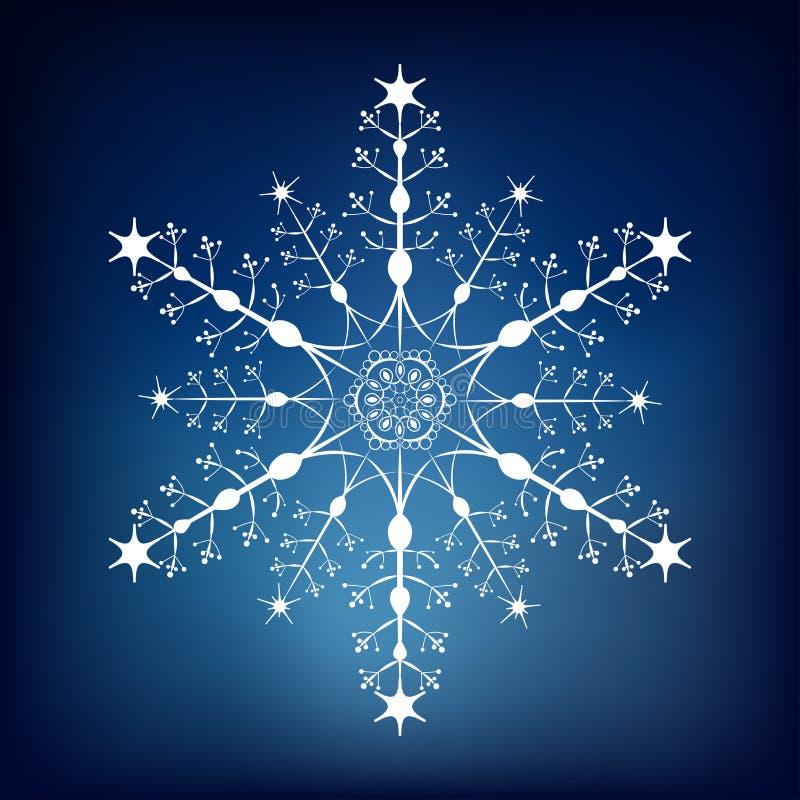 Copo de nieve decorativo fotografía de archivo libre de regalías