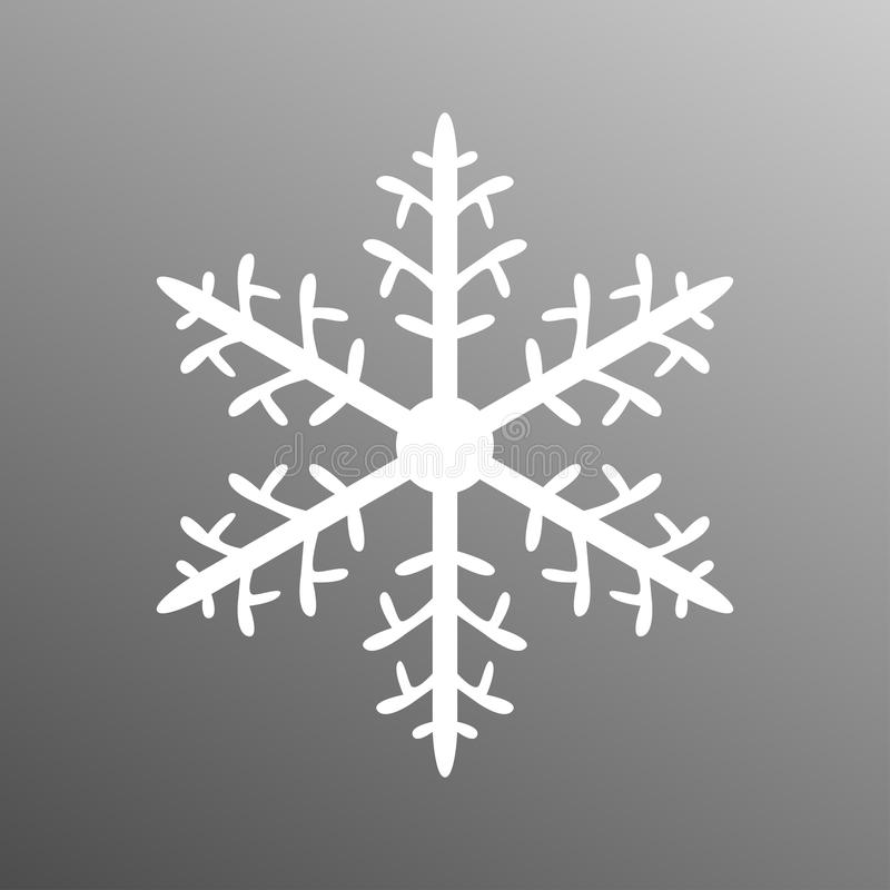 Copo de nieve decorativo imagen de archivo libre de regalías