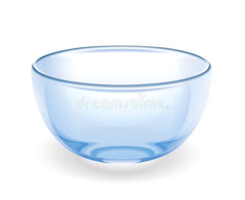 Copo de vidro ilustração stock