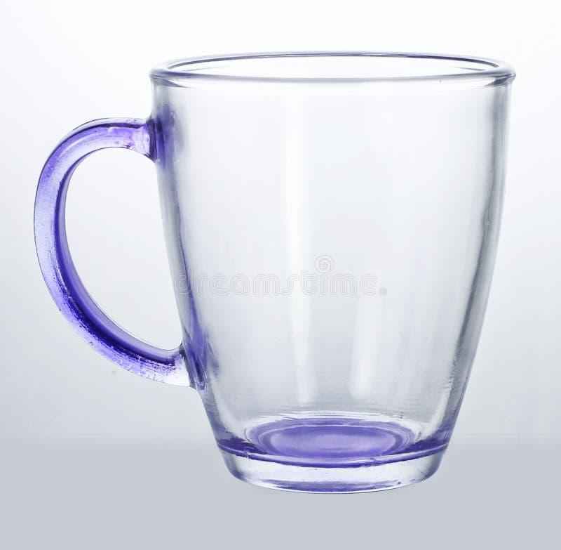 Copo de vidro vazio imagens de stock royalty free