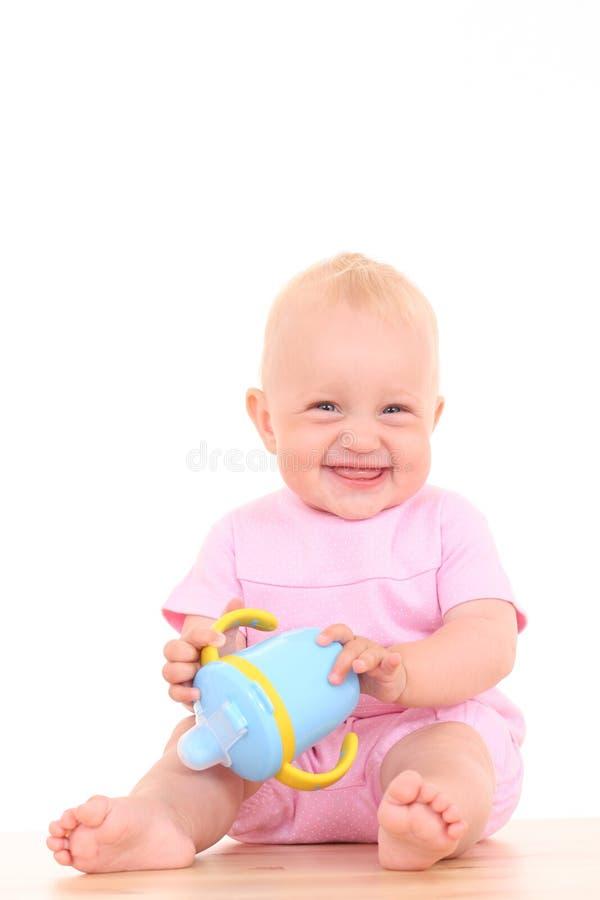 Copo do bebê foto de stock