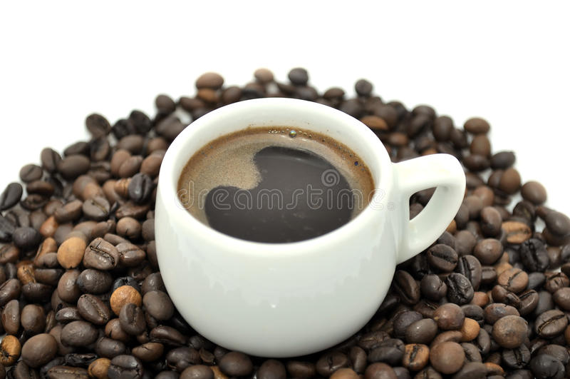 Copo do café fotografia de stock