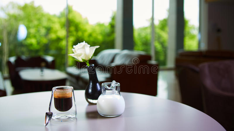 Copo do café do café fotos de stock royalty free