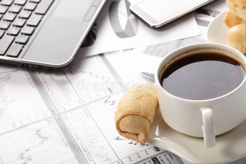 Copo do café perfumado fotos de stock royalty free