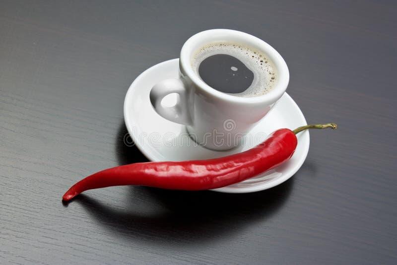 Copo do café preto fotos de stock royalty free