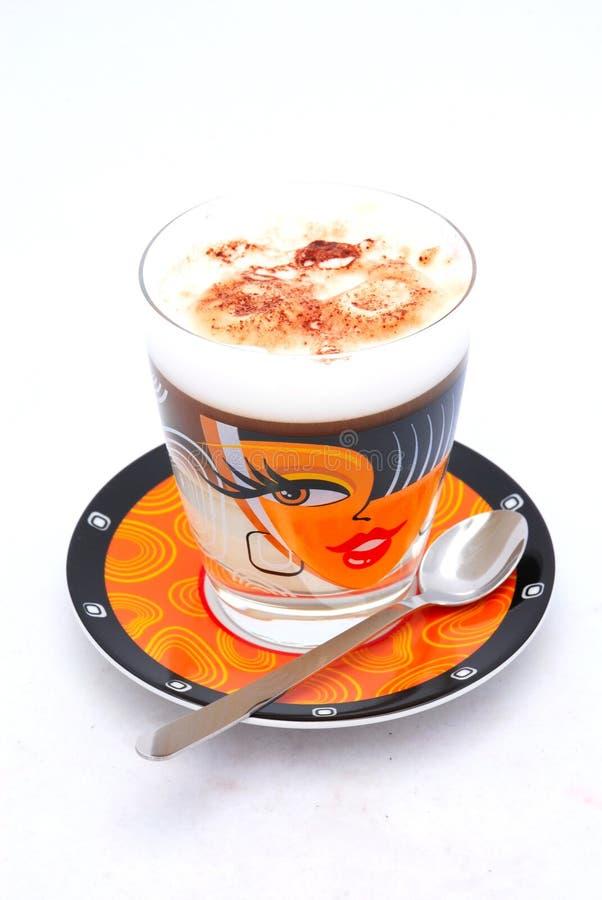 Copo do cappuccino foto de stock royalty free