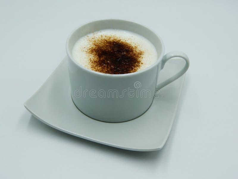 Copo do cappuccino italiano fotografia de stock royalty free